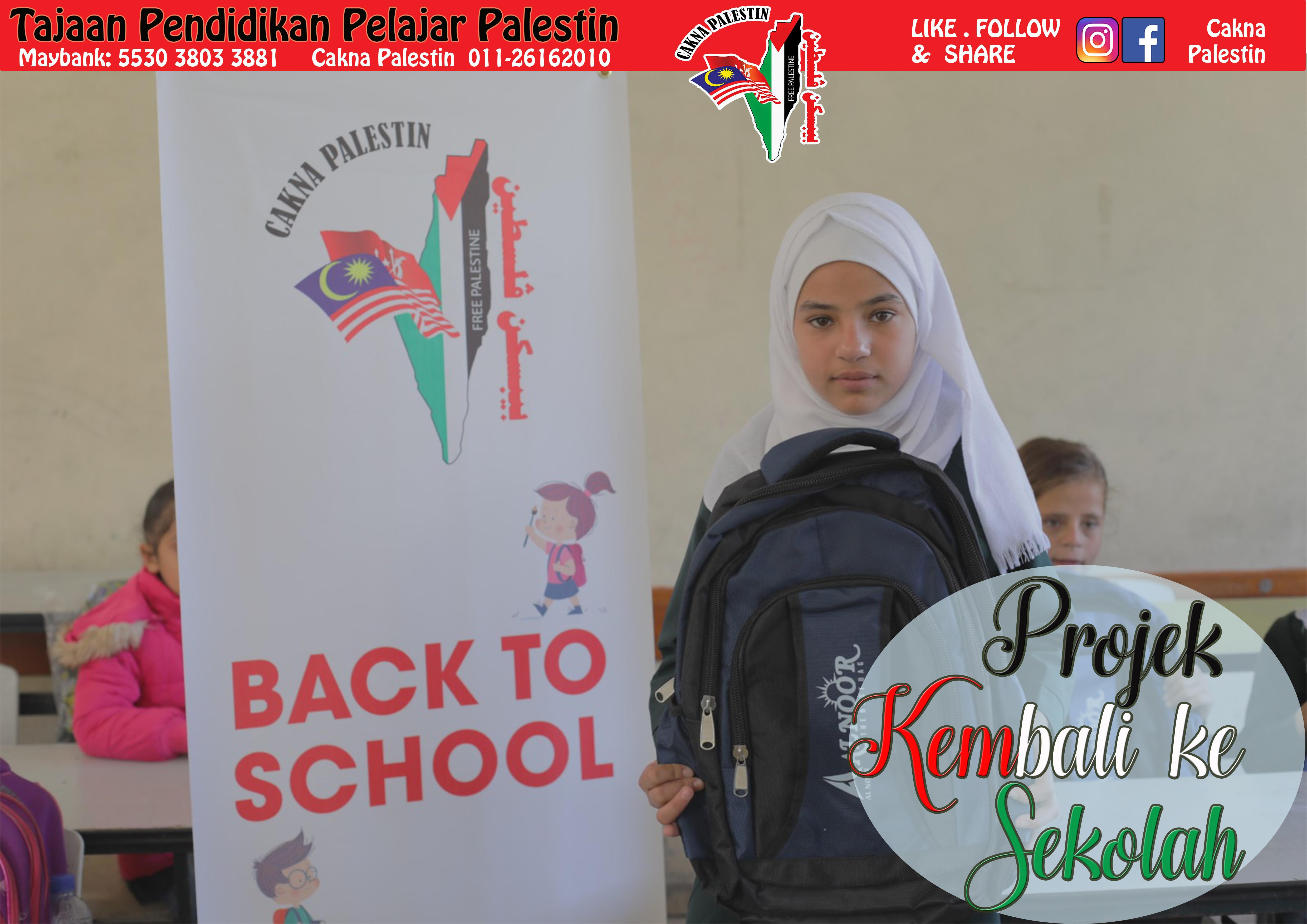 Projek Back To School 2018